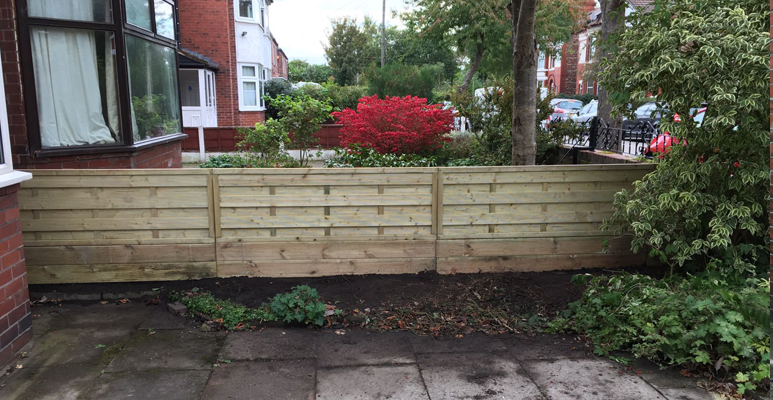 picket garden fencing Urmston