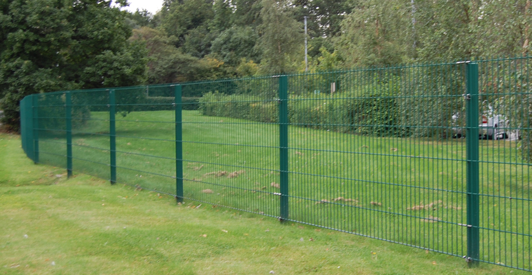 recent fencing project, Manchester