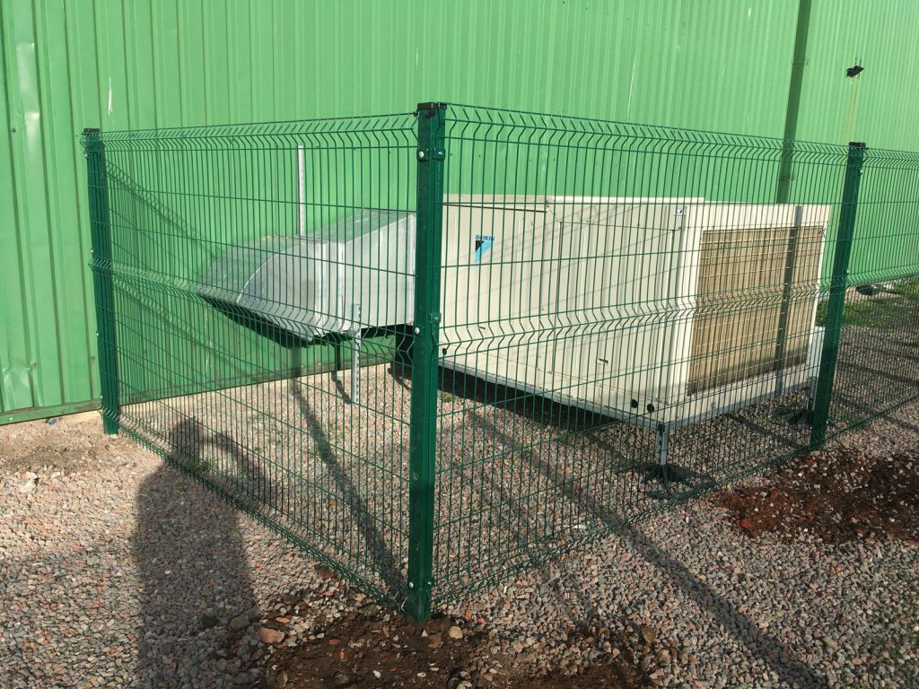 mesh fencing manchester