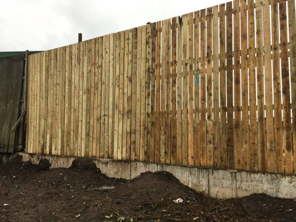 wooden fencing cheshire